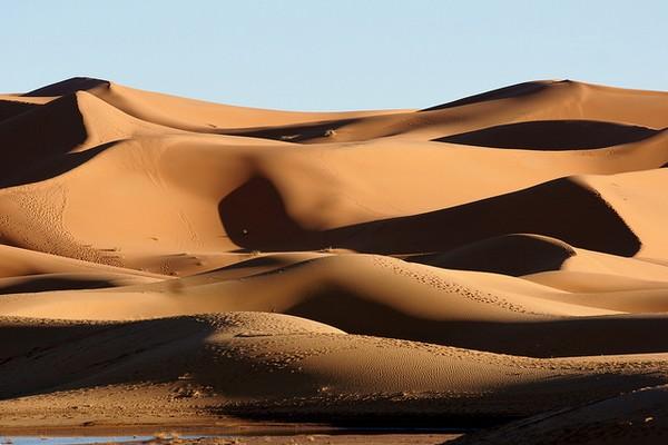 Marrakech - dunes de Merzouga